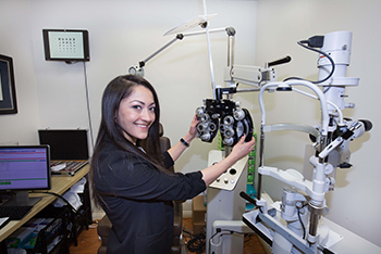 visual health eye exam in arlington va